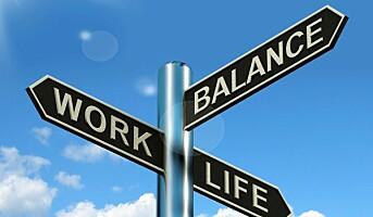 Finner ikke balansen mellom jobb og fritid