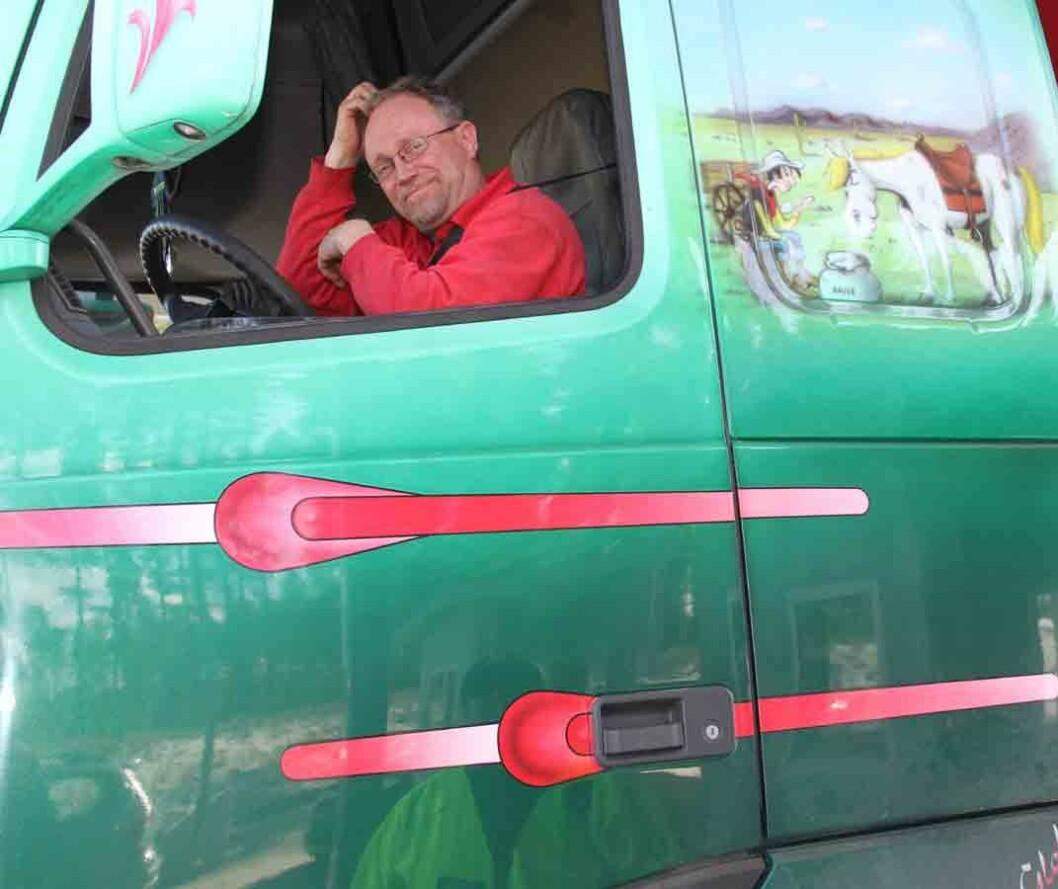 Lastebilsjåfør-svensk