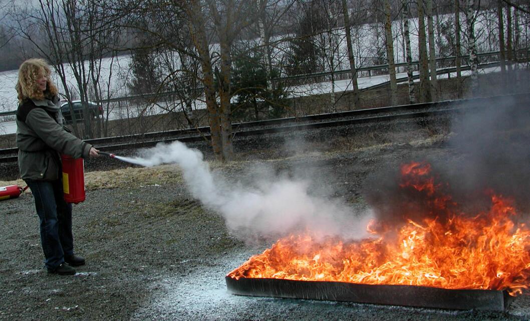brannøvelse