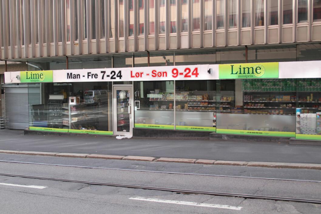 Lime-butikk-Oslo-sentrum