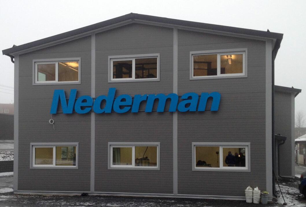 Nederman-husfasade