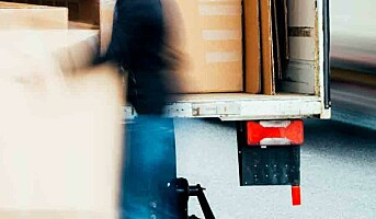 Lossing av lastebiler er risikofylt arbeid