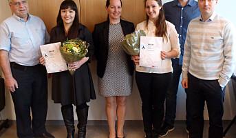 NTNU-studenter hedret for sikkerhetsforskning