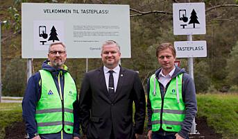 Flere tasteplasser langs norske veier