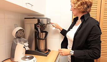 Mest energi til kaffetrakteren