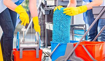 Ta fallulykker blant renholdere på alvor