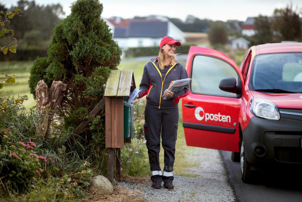 Posten ansatte trives på jobb. (Foto: Posten Norge)
