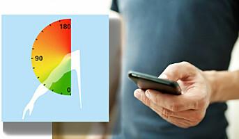 Ny app måler armbelastning