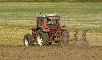 Skummel årstid i landbruket