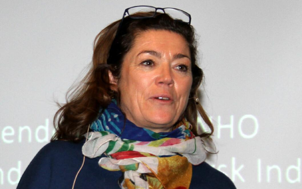 Kristin Skogen Lund. (Foto: Jan Tveita)