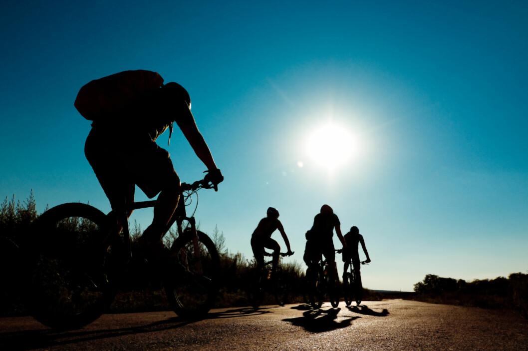 Sykling er en utmerket måte å være fysisk aktiv på. (Illustrasjonsfoto: Colourbox.com)