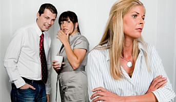 Hva gjør du hvis en kollega blir mobbet?