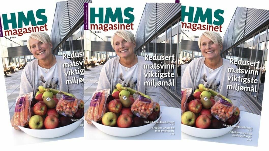 HMS-magasinet er snart i postkassen din. (Illustrasjon og omslagsfoto: Jan Tveita)