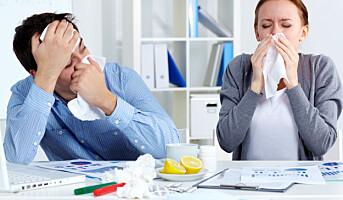 Bli hjemme når du er syk