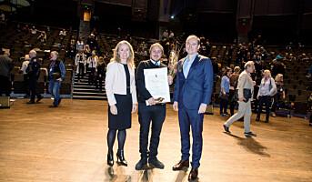 Dagbladet-journalist fikk Arbeidsmiljøprisen