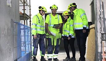 Innfører strengere sikkerhetsregler på byggeplassen