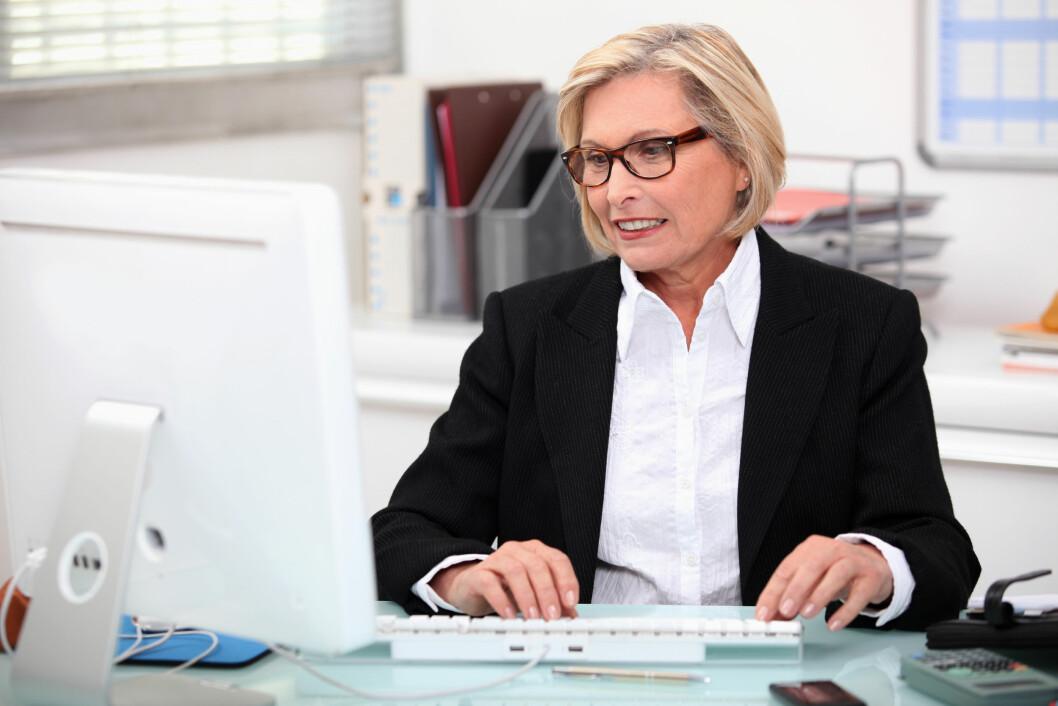 Arbeidshukommelsen forblir intakt langt opp i årene. (Illustrasjonsfoto: Colourbox.com)