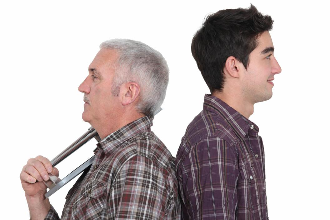 En av tre seniorer vil vike plass og slippe de unge til på arbeidsmarkedet. (Illustrasjonsfoto: Colourbox.com)