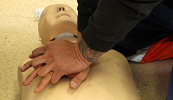 Førstehjelpere sliter med ettervirkninger