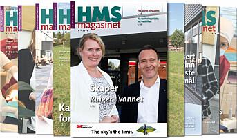 Årets siste HMS-magasinet snart ute