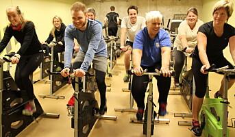 Mest populært å trene i arbeidstida