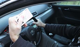 Meld tapt førerkort på nettet