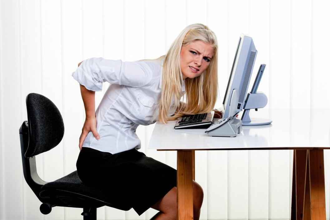 Mager trøst: Medisin hjelper ikke. (Illustrasjonsfoto: Colourbox.com)