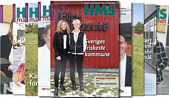 Årets første HMS-magasinet ute