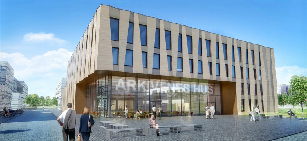 Arkivenes Hus (Illustrasjon: Lund og Slaatto arkitekter)
