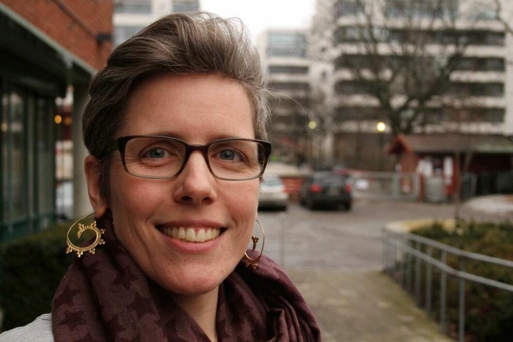 Ragnhild B. Strand Østrem er senioringeniør ved avdeling for kjemisk og biologisk arbeidsmiljø ved STAMI. (Foto: Jan Tveita)
