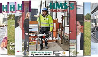 HMS-magasinet snart i postkassen din