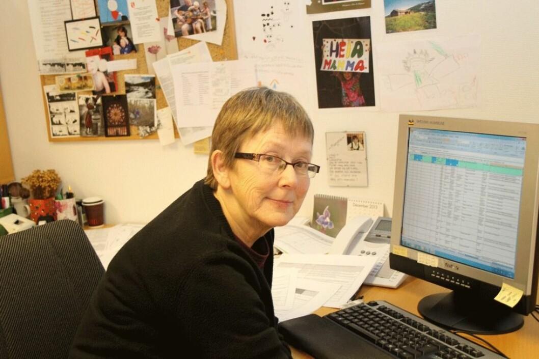 Seniortiltak i Skedsmo kommune førte til at Sigrid Louise Bjørnstad (67) sto lenger i jobben som miljøplanlegger enn hun strengt tatt måtte. (Foto: Jan Tveita)