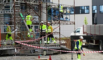 Lærer ikke norsk på byggeplassen