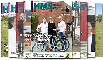 Sommerutgaven av HMS-magasinet snart ute