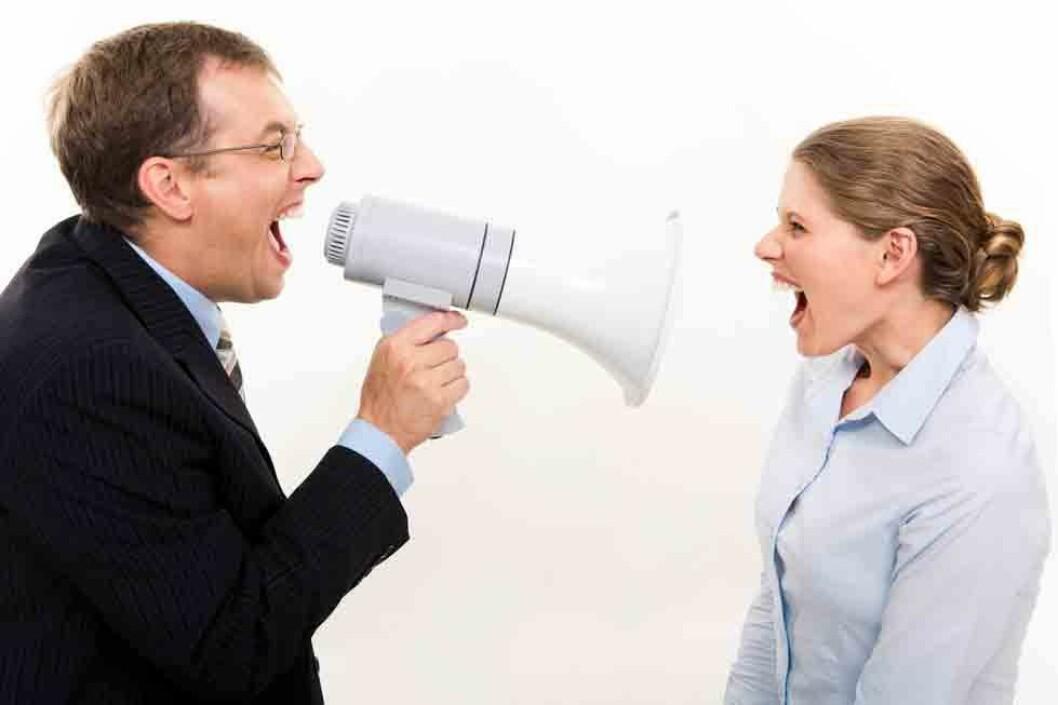 Konflikt eller mobbing? (Illustrasjonsfoto: Colourbox.com)