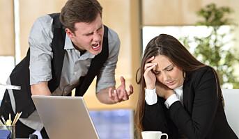 Kvinner og menn reagerer ulikt på mobbing