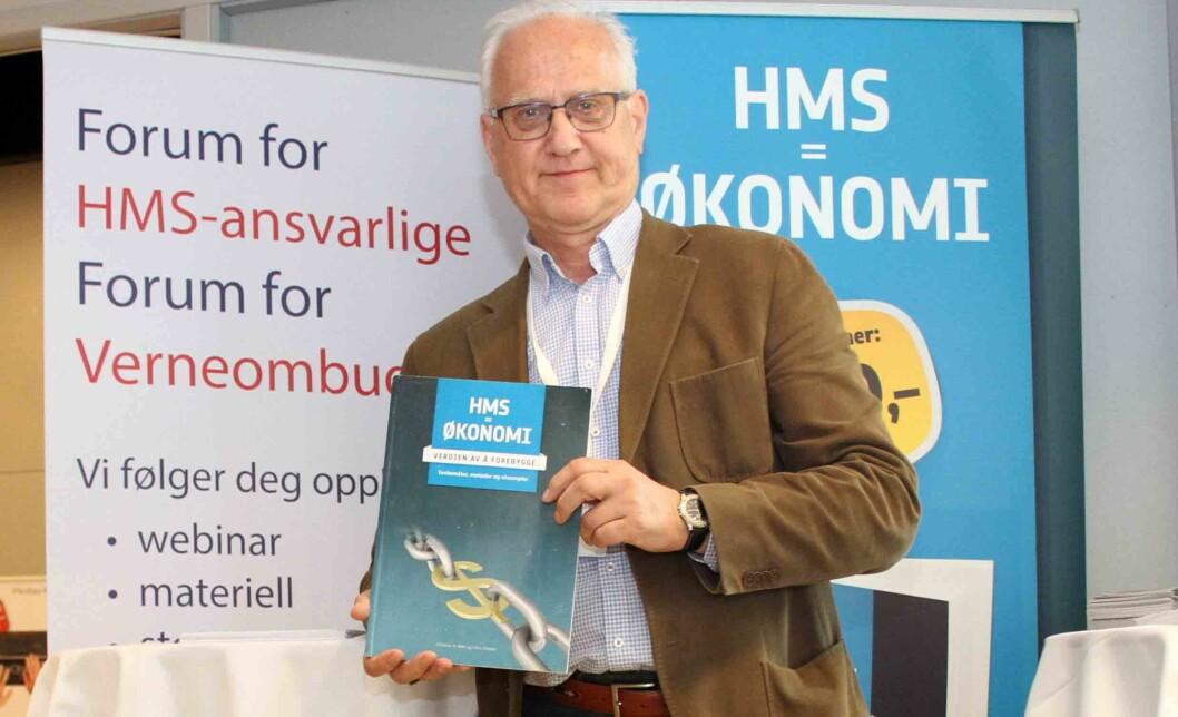 Christian H. Rafn i Sunne Organisasjoner har arbeidet mye med HMS-økonomi i norsk arbeidsliv. (Foto: Jan Tveita)