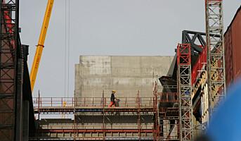 Stanset arbeid på fire av ti byggeplasser