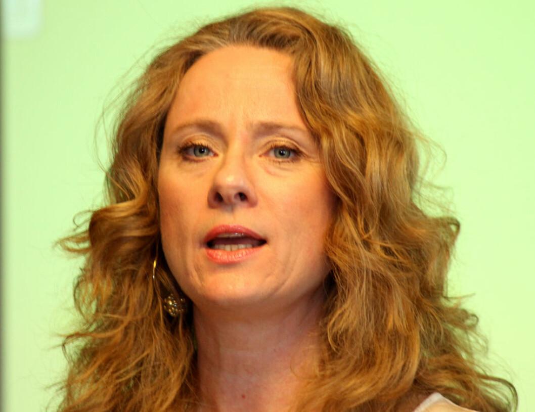 Arbeidsminister Anniken Hauglie. (Foto: Jan Tveita)