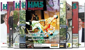 HMS-magasinet ute nå