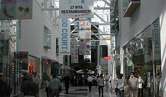 Mindre vold i svenske butikker