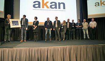 Akan-prisen til Kongsberg