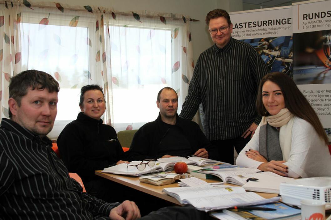 Bedriften Hamatec på Mysen tilbyr norskopplæring til sine ansatte med midler fra Kompetansepluss. Du kan lese mer om Hamatec i neste nummer av HMS-magasinet. (Foto: Jan Tveita)