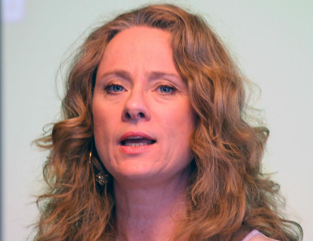 Arbeids- og sosialminister Anniken Hauglie. (Foto: Jan Tveita)