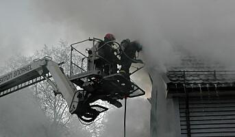 Rekordlavt antall branndøde