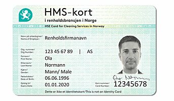 Nytt HMS-kort