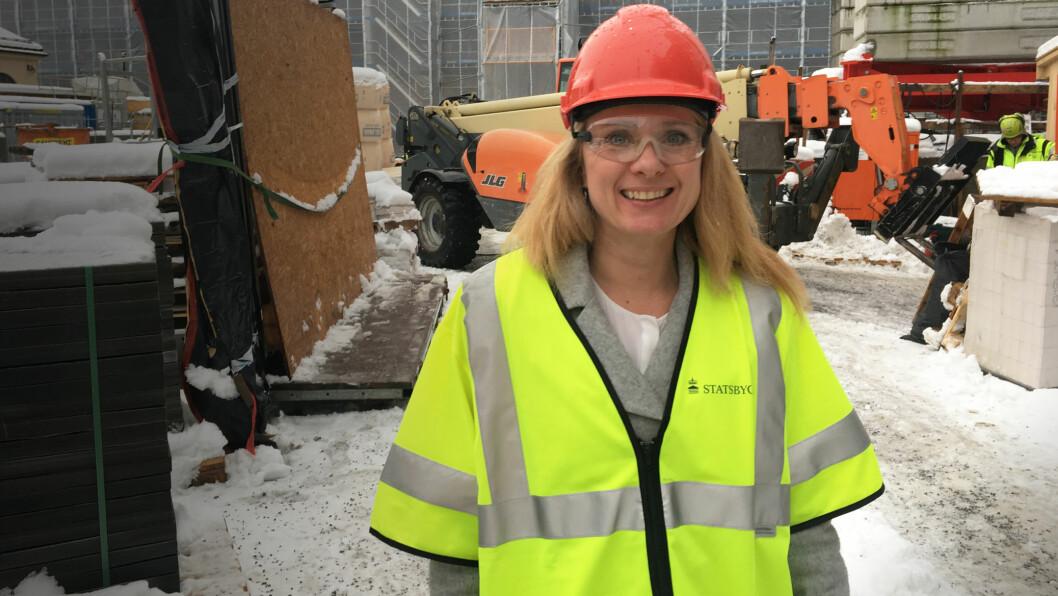 Arbeids- og sosialminister Anniken Hauglie. (Foto: ASD)