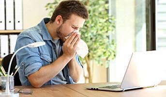 Influensa spres lettere enn antatt