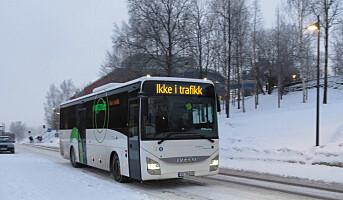 Bussjåførene sliter på vinterføret