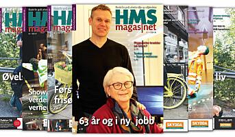 Første HMS-magasinet snart i postkassen